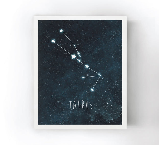 "3 3.5"" x 5.5"" Constellation Prints"