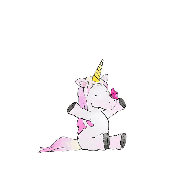 Unicorn with Butterfly
