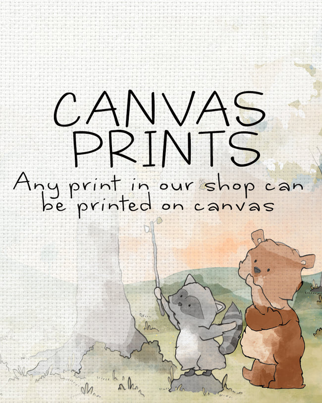 Canvas Prints - Any Illustration