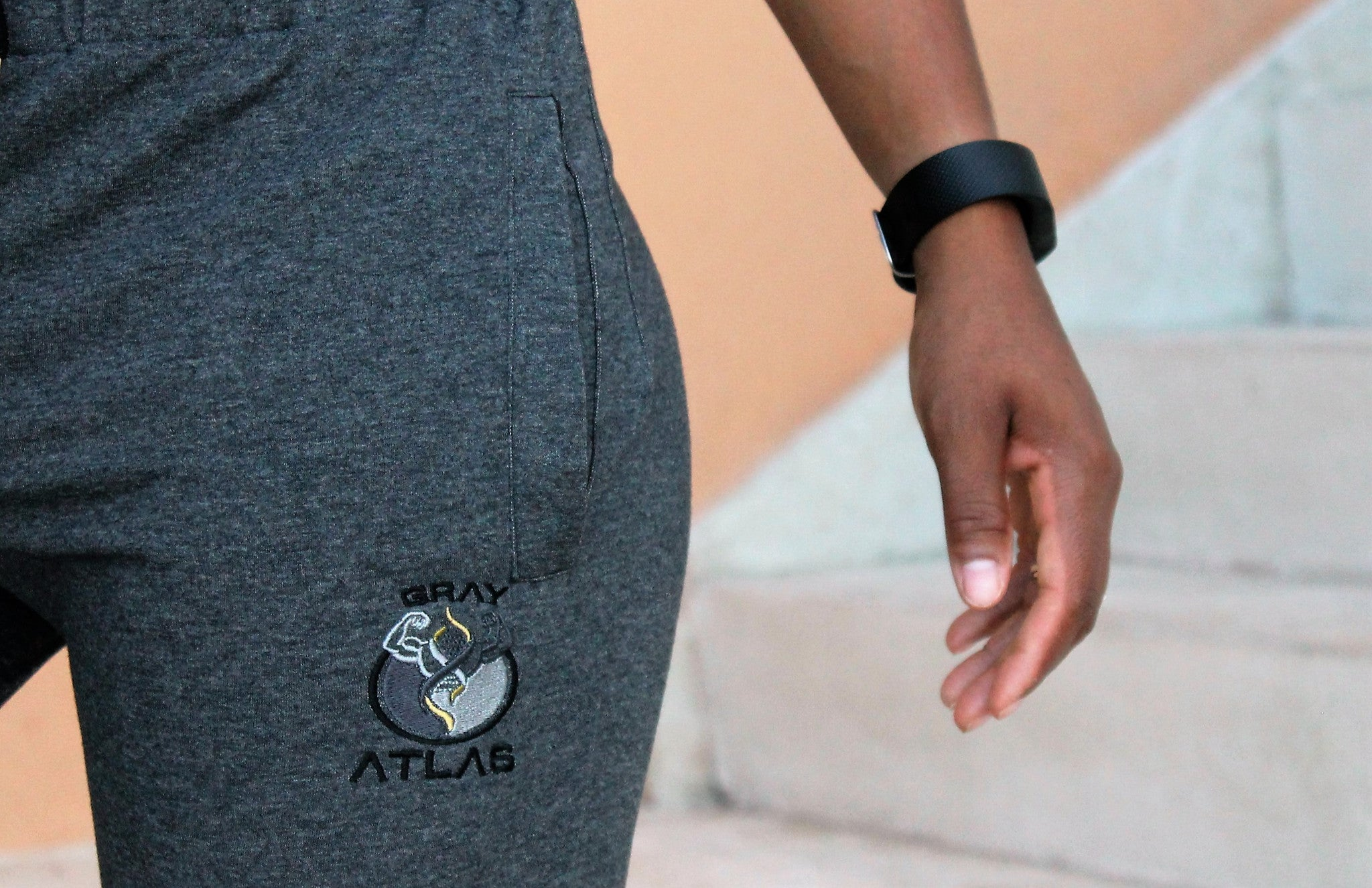 WOMEN DARK GREY JOGGER PANTS - GrayAtlas
