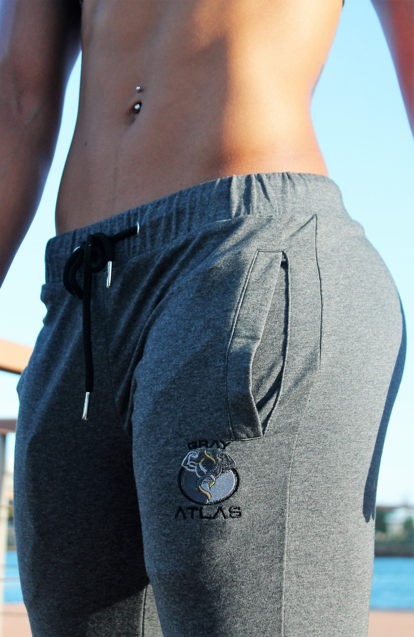 WOMEN'S JOGGERS - DARK GREY