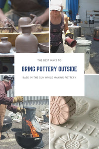 3 Easy ways to bring pottery outdoors!