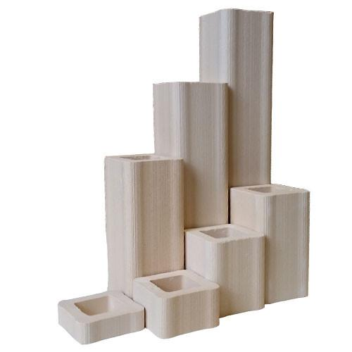 "1 1/2"" Kiln Posts (Various Sizes) - Amaranth Stoneware Canada"