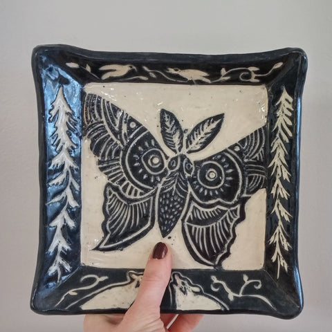 Sgraffito Greenware
