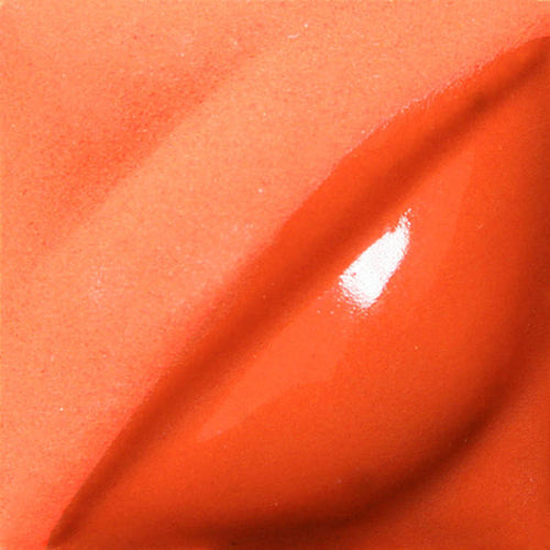 Flame Orange Velvet Underglaze by Amaco - Amaranth Stoneware Canada
