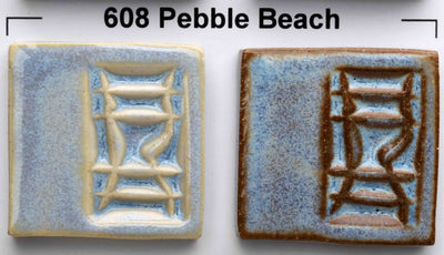 Pebble Beach (608) Reduction Look Glaze by Opulence