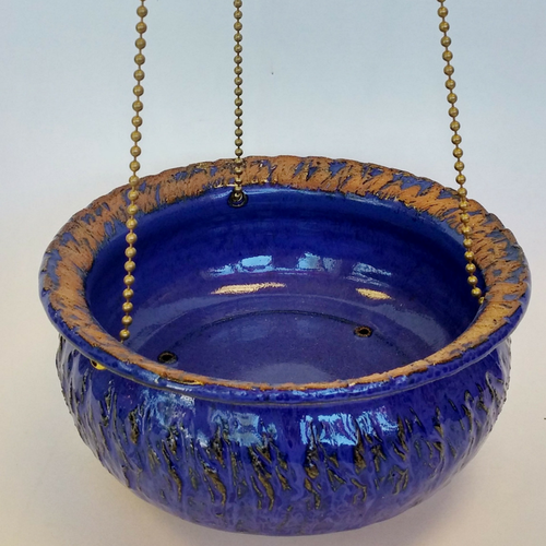 Blue Bird Café Feeder - Amaranth Stoneware Canada