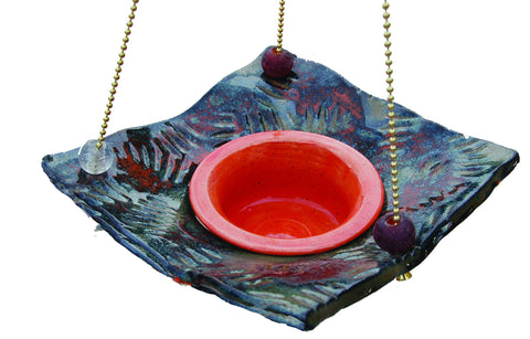 Feeder - Square Jelly - Amaranth Stoneware Canada