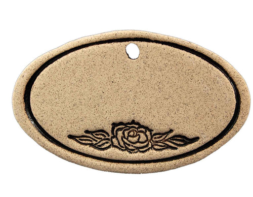 Blank (with Rose) - Amaranth Stoneware Canada