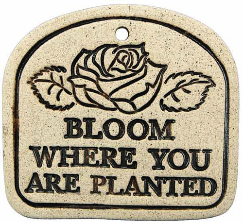 Bloom Where You Are Planted - Amaranth Stoneware Canada