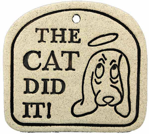 The Cat Did It - Amaranth Stoneware Canada