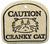 Caution - Cranky Cat - Amaranth Stoneware Canada