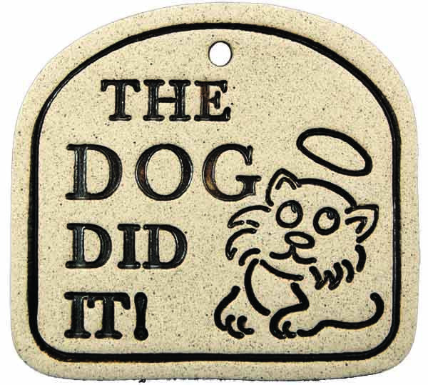The Dog Did It - Amaranth Stoneware Canada