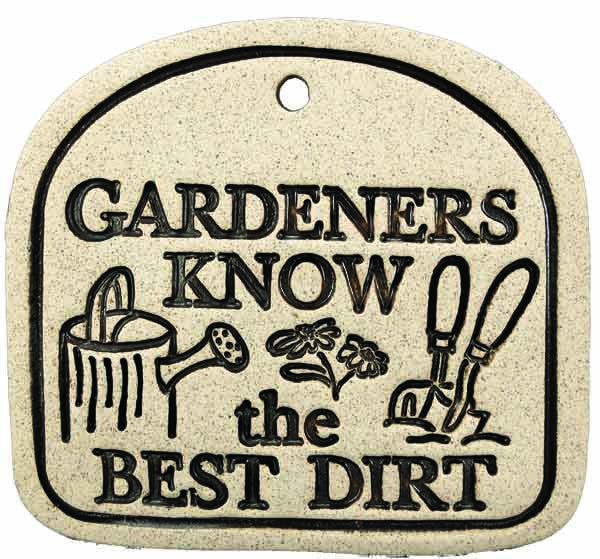 Gardeners Know The Best Dirt - Amaranth Stoneware Canada