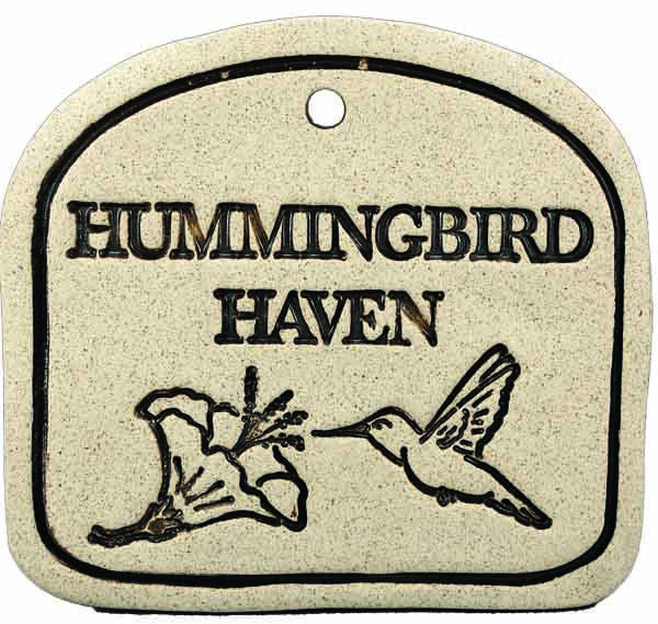 Hummingbird Haven - Amaranth Stoneware Canada