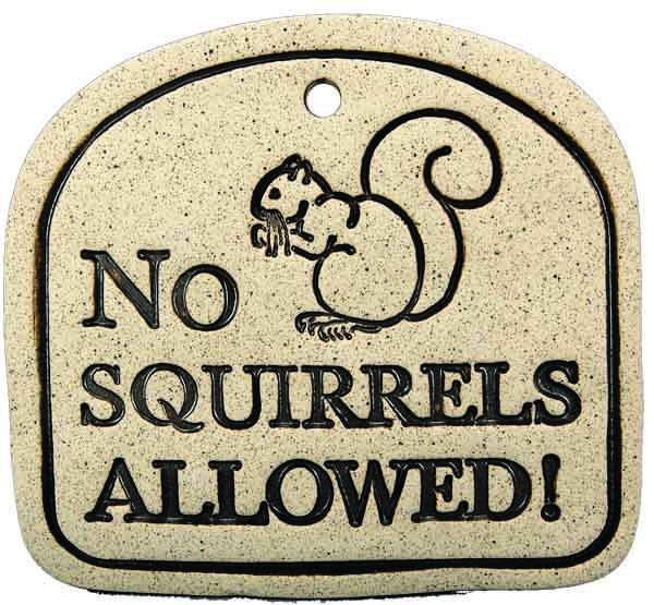 No Squirrels Allowed! - Amaranth Stoneware Canada
