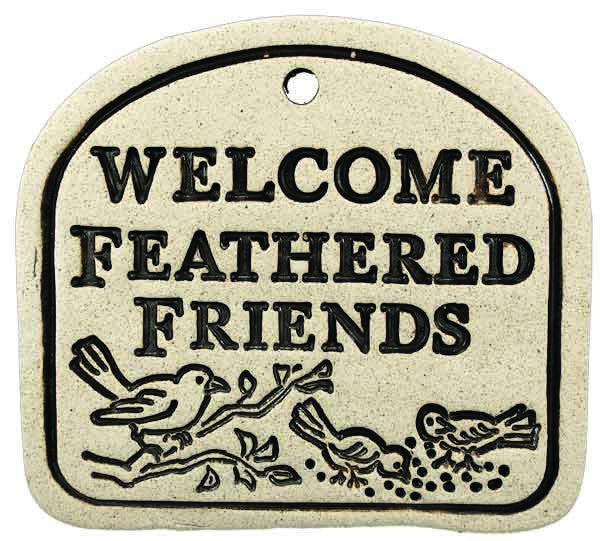 Welcome Feathered Friends - Amaranth Stoneware Canada