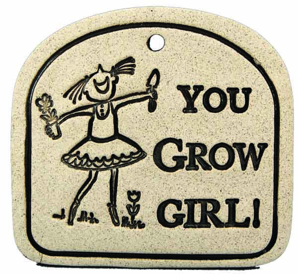 You Grow Girl! - Amaranth Stoneware Canada