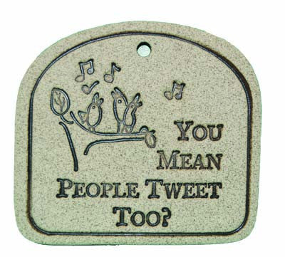 You Mean People Tweet Too? - Amaranth Stoneware Canada