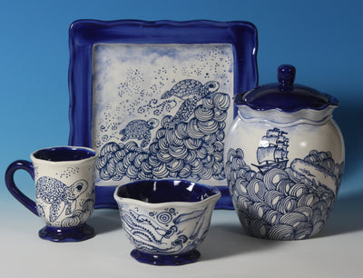 Blue Designer Liner by Mayco - Amaranth Stoneware Canada