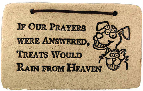 If our Prayers were Answered, Treats Would Rain from Heaven - Amaranth Stoneware Canada