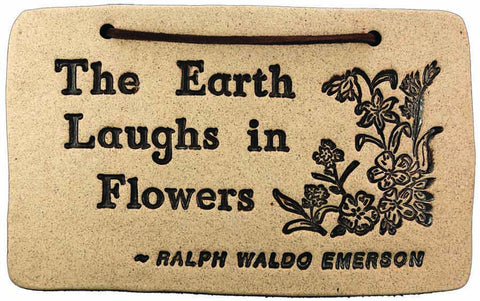 The Earth Laughs in Flowers - Amaranth Stoneware Canada