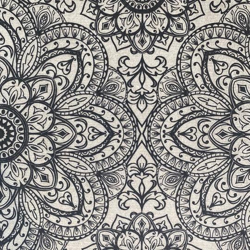Mandala Closed Center - Underglaze Transfer Sheet by Elan Pottery