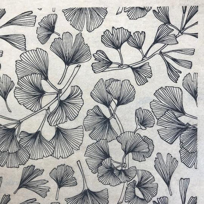 Ginkgo Leaves - Underglaze Transfer Sheet by Elan Pottery