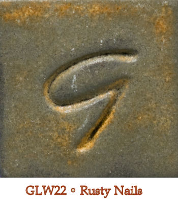 Rusty Nails Glaze by Georgies - Amaranth Stoneware Canada
