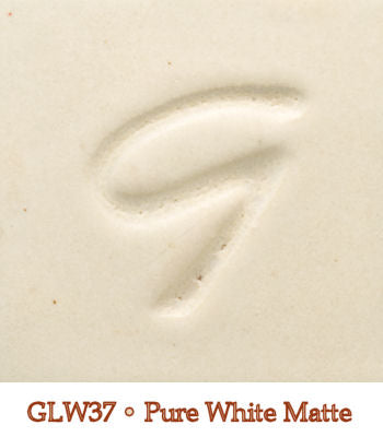 Pure White Matte Glaze by Georgies - Amaranth Stoneware Canada