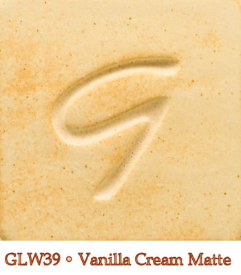 Vanilla Cream Matte Glaze by Georgies - Amaranth Stoneware Canada