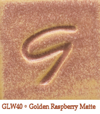 Golden Raspberry Matte Glaze by Georgies - Amaranth Stoneware Canada