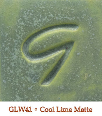 Cool Lime Matte Glaze by Georgies - Amaranth Stoneware Canada