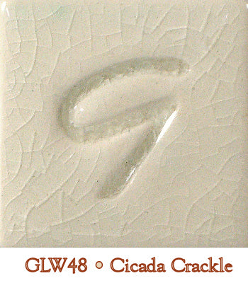 Cicada Crackle Glaze by Georgies - Amaranth Stoneware Canada