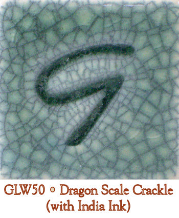Dragon Scale Crackle Glaze by Georgies - Amaranth Stoneware Canada