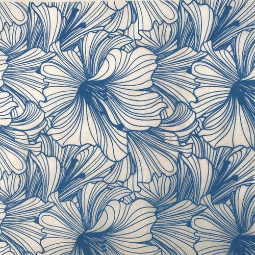 Hibiscus - Underglaze Transfer Sheet by Elan Pottery