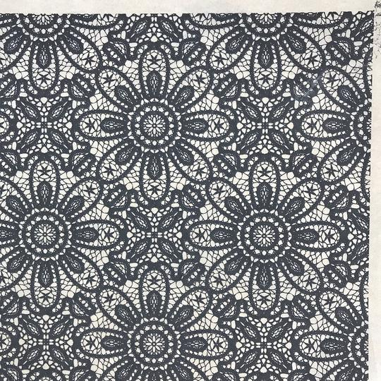 Lace - Underglaze Transfer Sheet by Elan Pottery