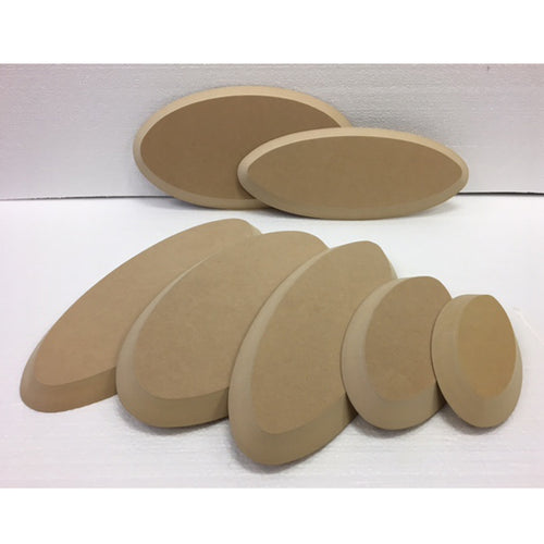 Oval Wood Drape Mold by GR Pottery Forms