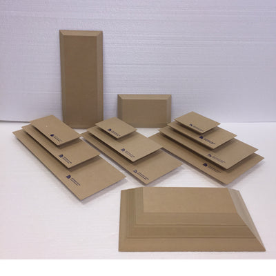 Rectangle Wood Drape Mold by GR Pottery Forms