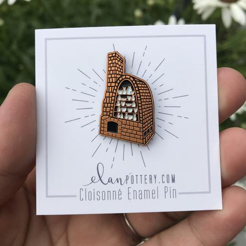 Reduction Kiln Enamel Pin