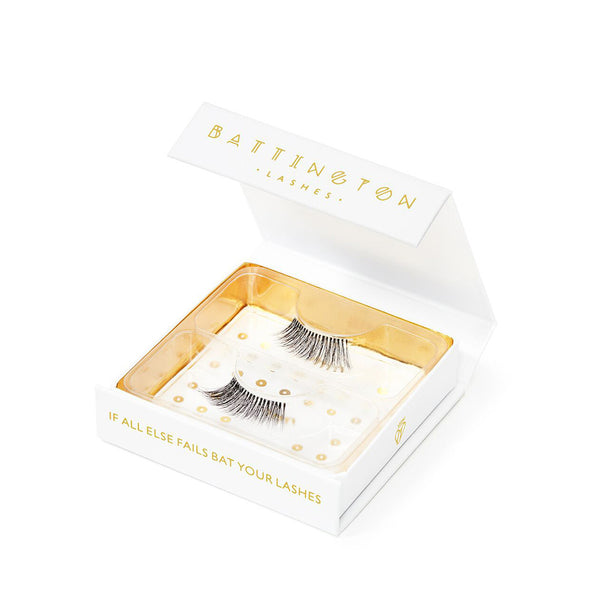 Demi 3D silk lash with invisible band