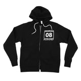 Fortune Auto Drift Club Zip Up Hoodie (BLACK)