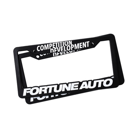 Fortune Auto Competition Development License Plate Frames