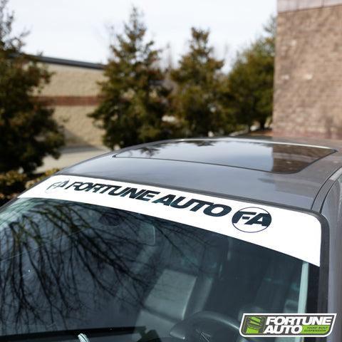 Fortune Auto Windshield Banner
