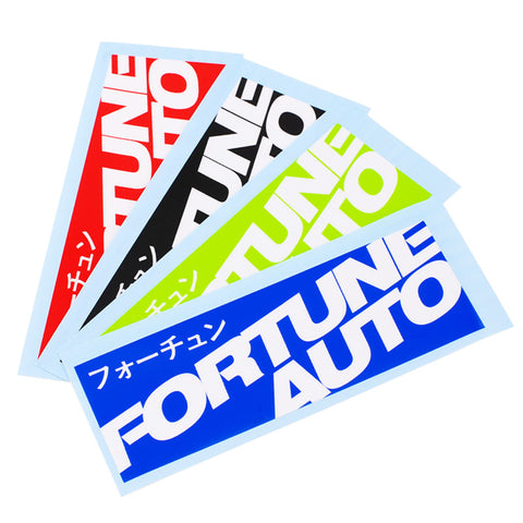 Fortune Auto Box Decal