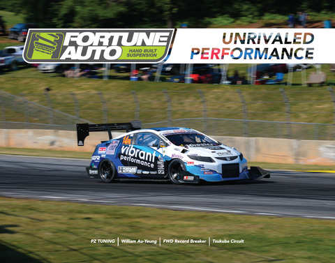 Fortune Auto Shop Poster - PZ Tuning Civic Unrivaled Performance