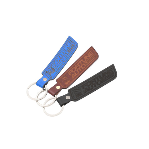 Fortune Auto Genuine Leather Keychain