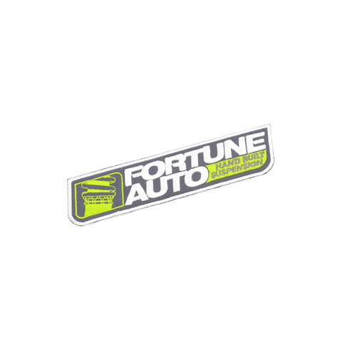 Fortune Auto Iron On Patch