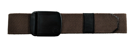 "1.5"" Wide Brown Elastic Stretch Belt"