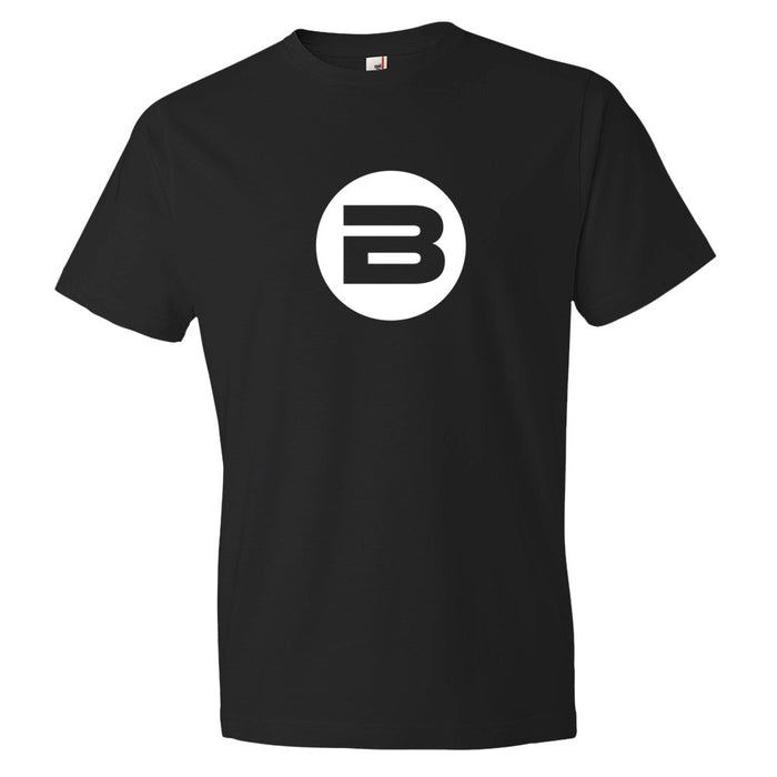 BESTA Circle B Logo Tee in Black